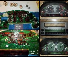 Naprawy pixeli licznika/ radio/ klimatyzacja BMW - 1/2