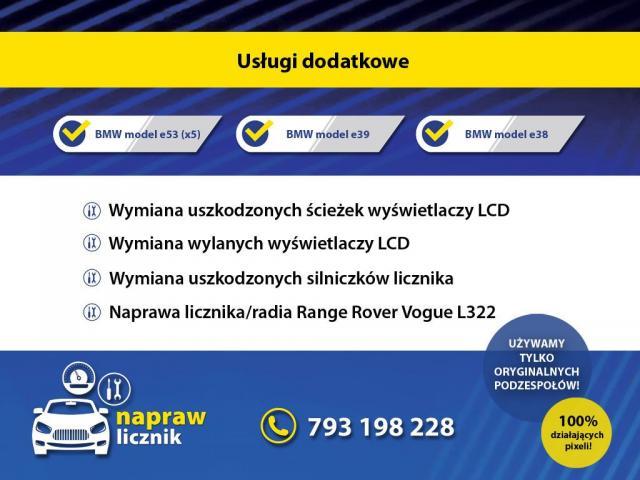 Naprawy pixeli licznika/ radio/ klimatyzacja BMW - 2/2