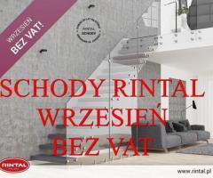 Schody Rintal - Wrzesień bez vat